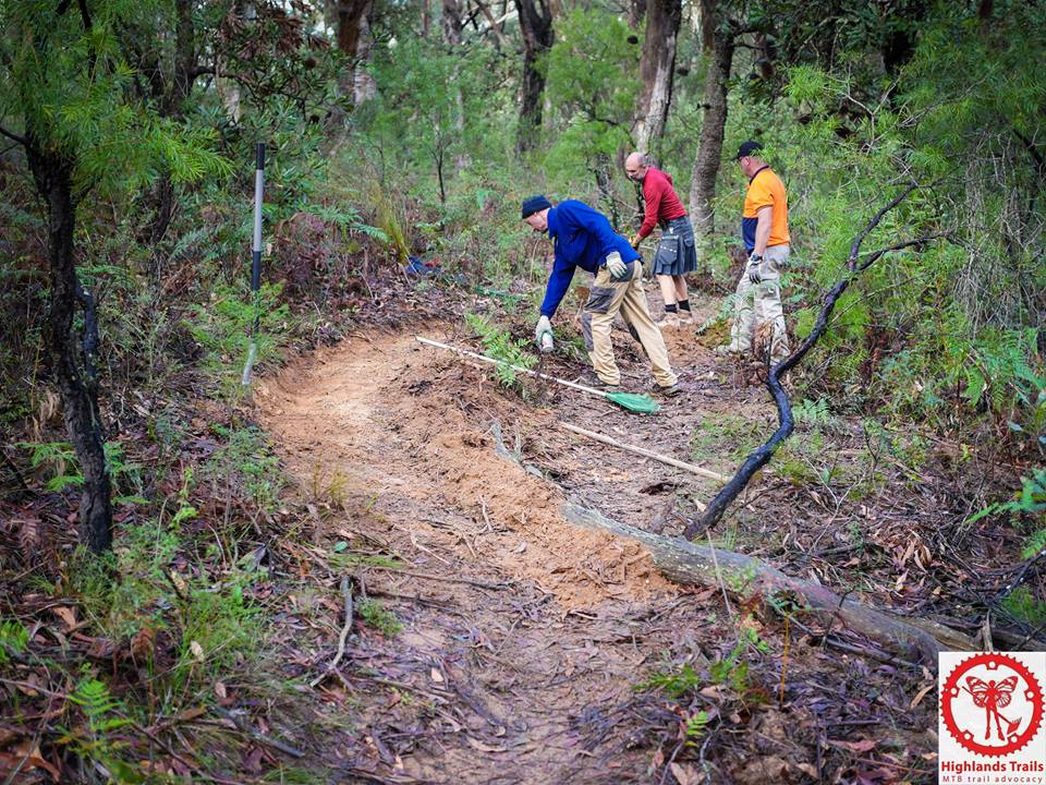 Trail work continues to improve Princess' Revenge