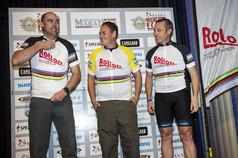 Rolloff World Championships Podium 2012